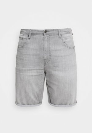 Jeansshorts - grey light wash