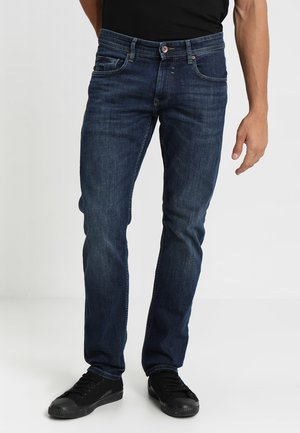 Straight leg jeans - blue medium wash