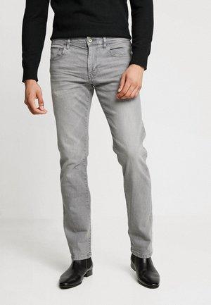 Straight leg jeans - grey medium wash