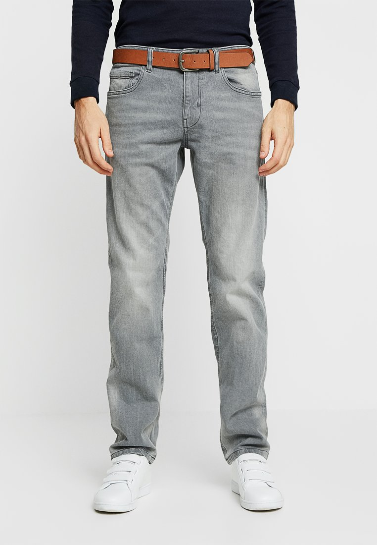 Esprit - Straight leg jeans - grey medium wash