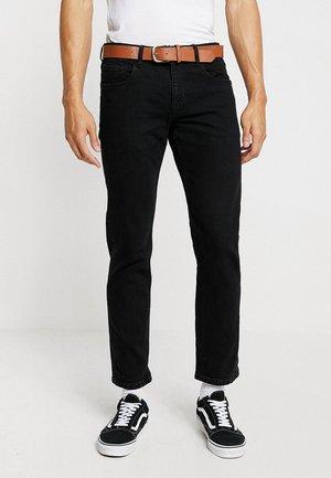 Jeans straight leg - BLACK RINSE