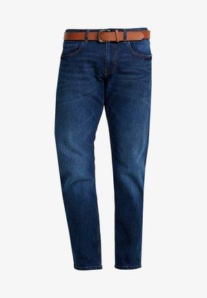 Jeans Straight Leg - BLUE DARK WASH