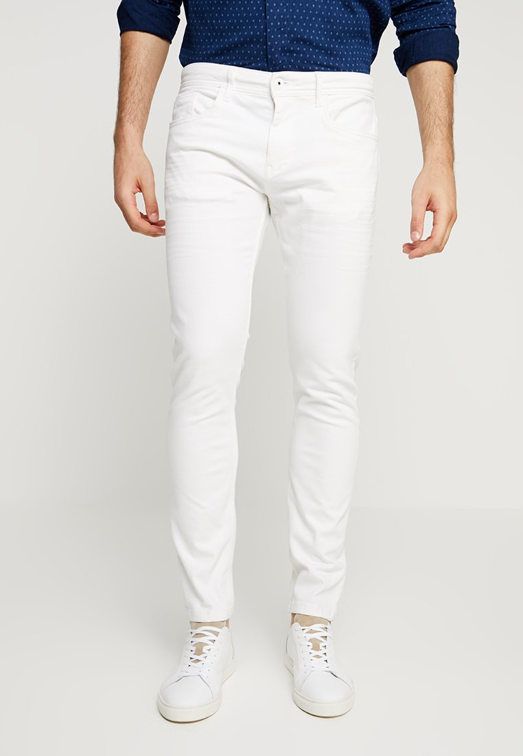 Esprit - Slim fit jeans - off white