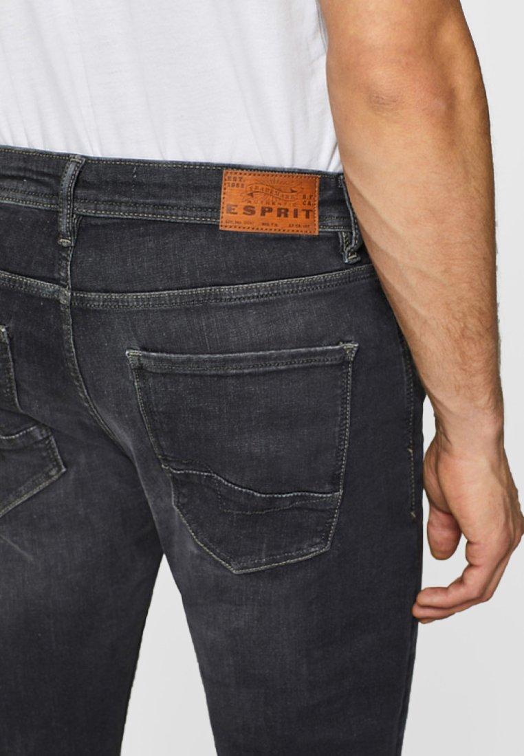 Esprit Mit Superstret - Jeans Slim Fit Black