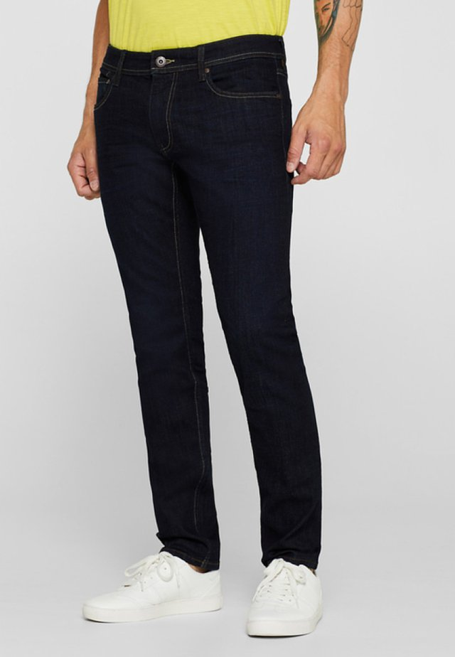 MIT RINSE-WASCHUNG - Slim fit jeans - blue rinse