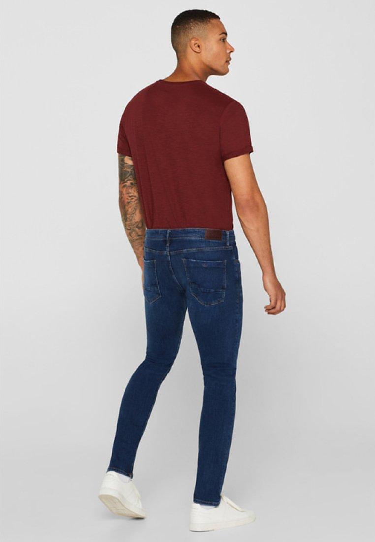 Used Skinny Mit Medium Esprit waschungJeans Blue Washed kPXOZiuT