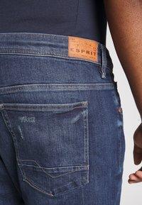 Esprit - BIG - Jeansy Straight Leg - blue medium wash - 3