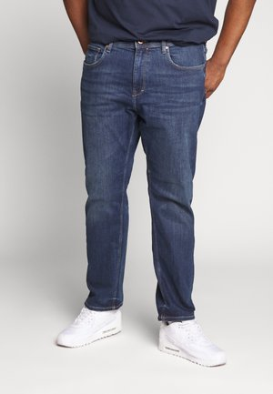 BIG - Straight leg -farkut - blue medium wash