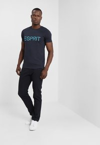 Esprit - NEW ICON - T-shirt print - navy - 1
