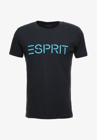 Esprit - NEW ICON - T-shirt print - navy - 3