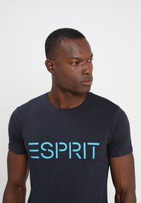 Esprit - NEW ICON - T-shirt print - navy - 4