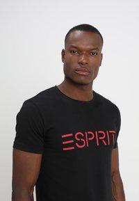 Esprit - NEW ICON - T-shirt print - black - 4