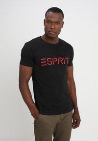 Esprit - NEW ICON - T-shirt print - black - 0