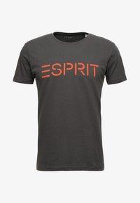 Esprit - NEW ICON - T-shirt print - anthracite - 3
