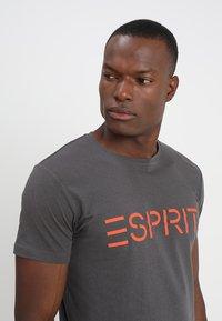 Esprit - NEW ICON - T-shirt print - anthracite - 4
