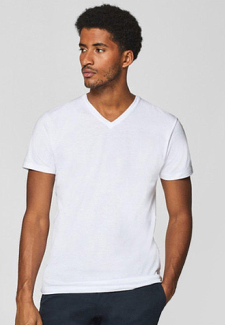 Esprit - 2 PACK - T-Shirt basic - white