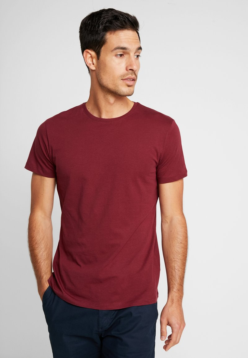 Esprit - 2 PACK - T-shirts basic - bordeaux red