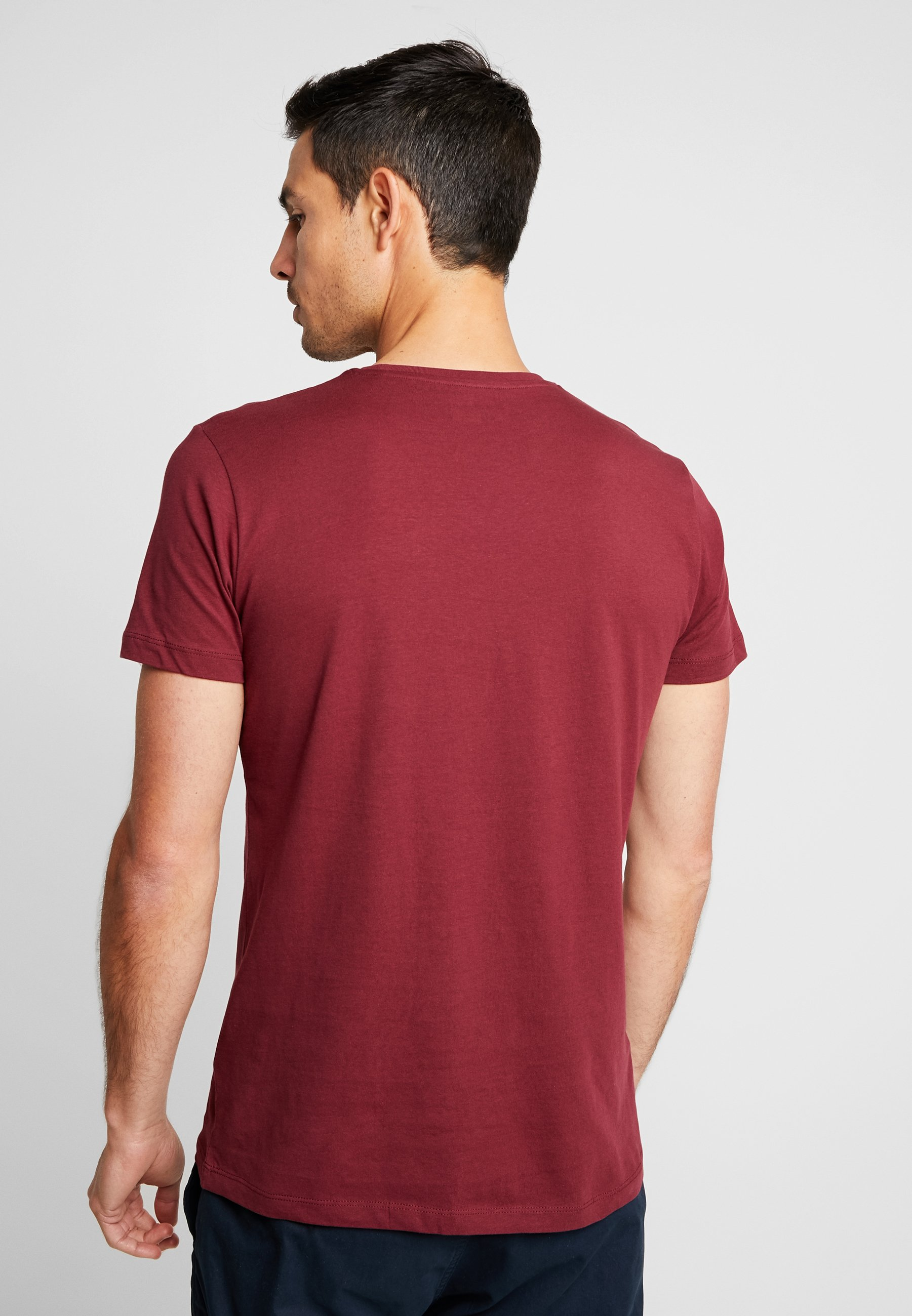 PackT Basic Bordeaux shirt 2 Red Esprit T1FJlKc3u