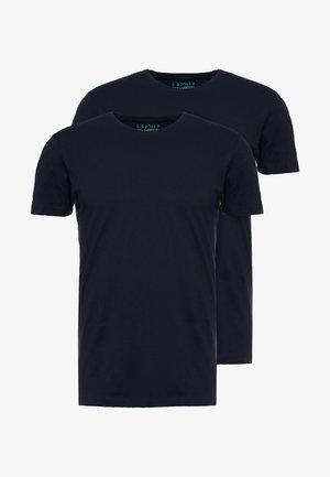 2 PACK - Camiseta básica - navy