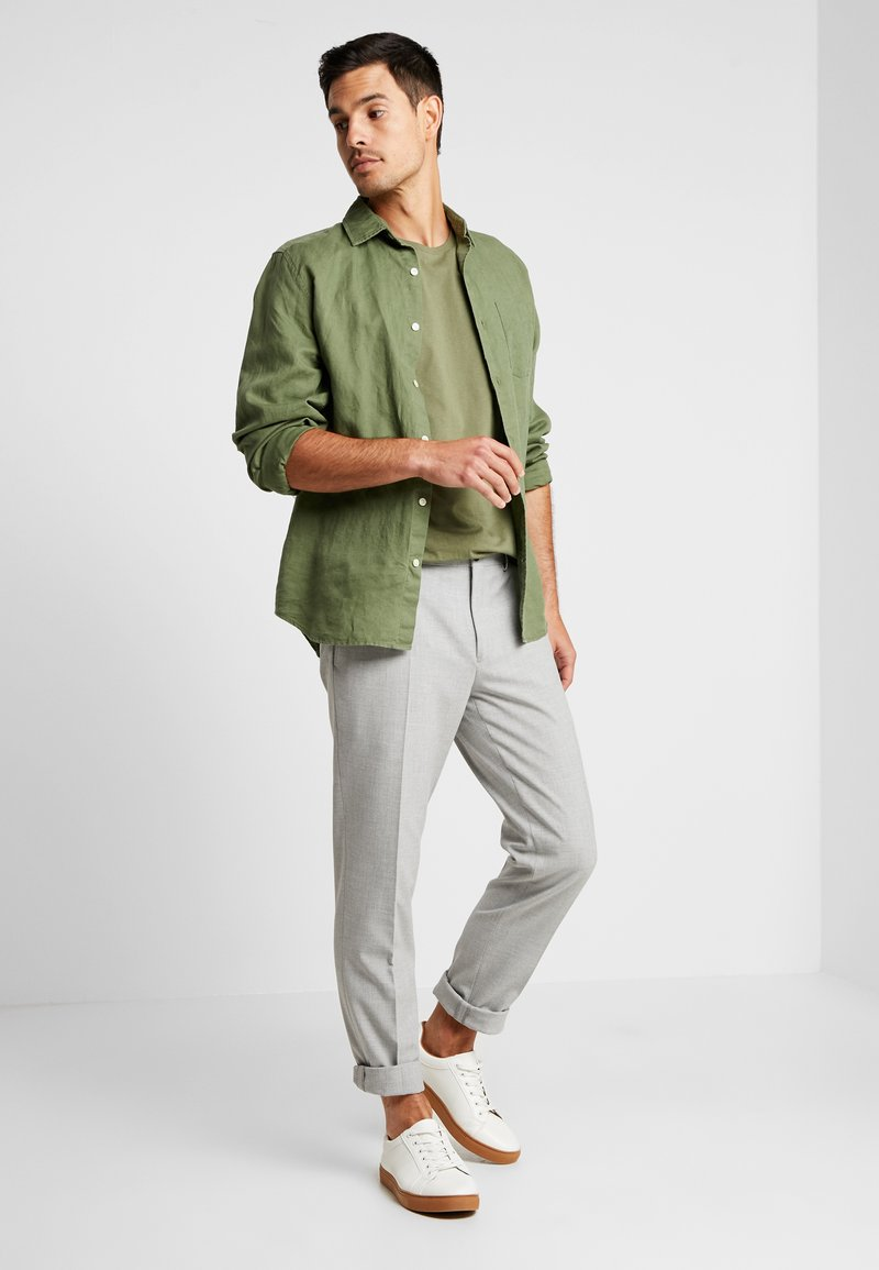 Esprit - 2 PACK - Camiseta básica - khaki green