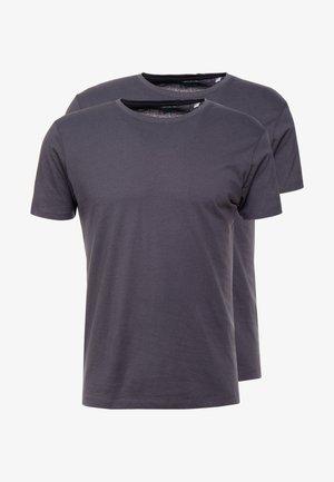 2 PACK - Camiseta básica - anthracite
