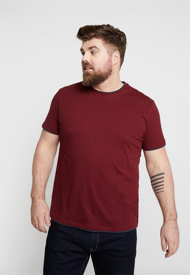 Esprit - BIG BASI - Basic T-shirt - bordeaux red