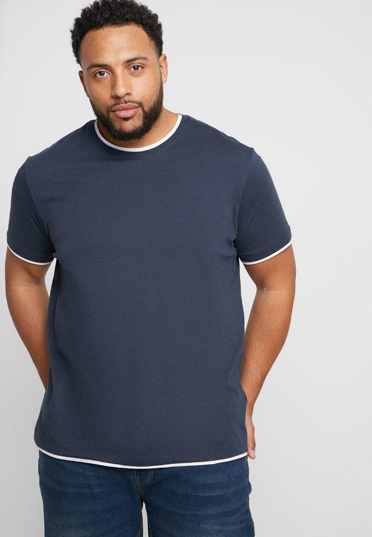 Esprit - BIG BASI - T-Shirt basic - navy
