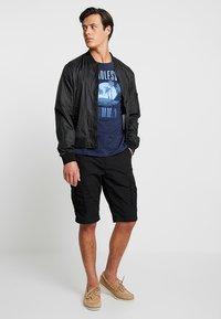 Esprit - FUN - T-shirt con stampa - navy - 1