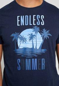 Esprit - FUN - T-shirt con stampa - navy - 5