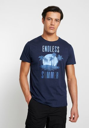 FUN - T-Shirt print - navy