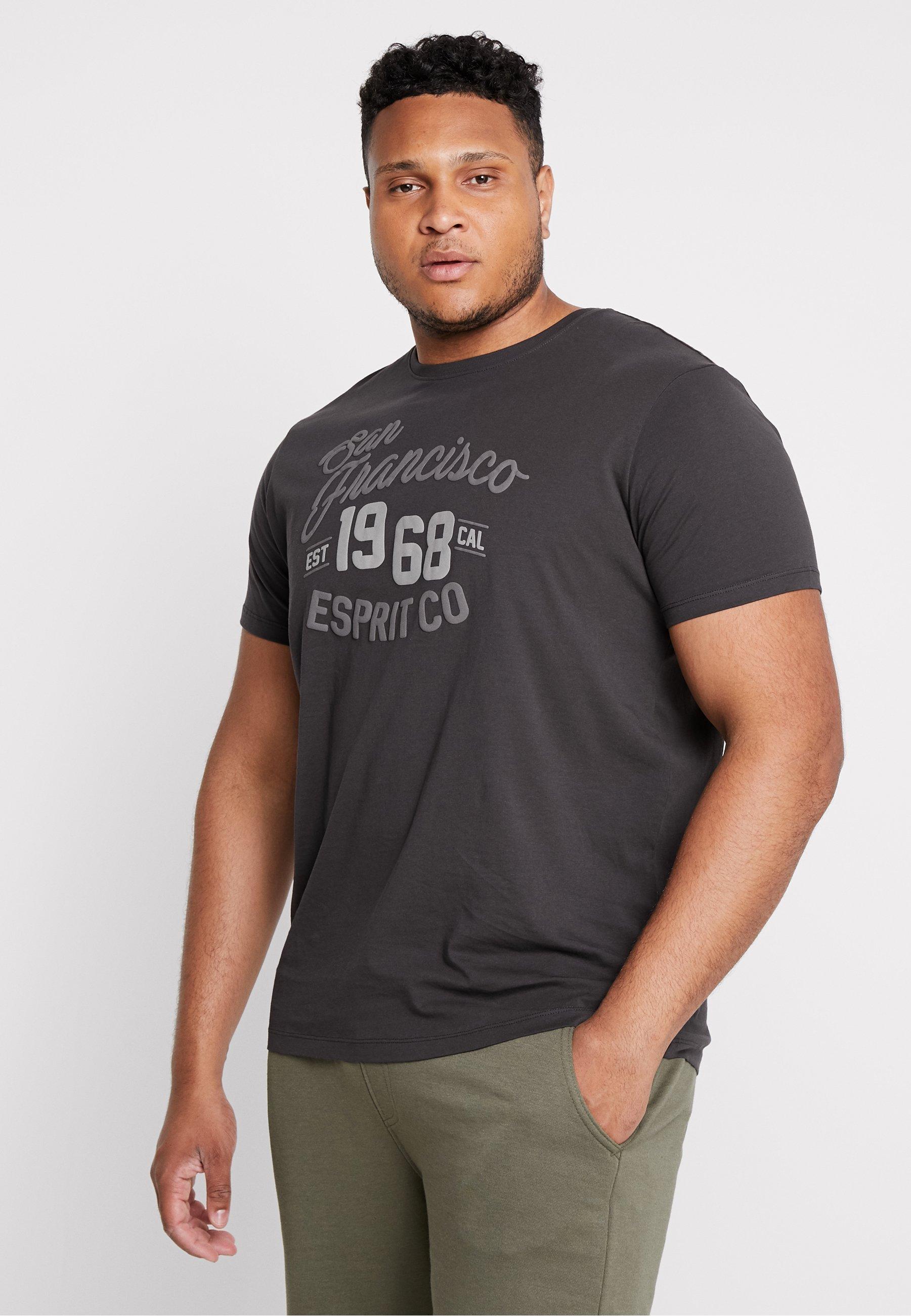 Imprimé Esprit Anthracite shirt BigT Esprit Anthracite BigT Imprimé shirt nwOZN0PX8k