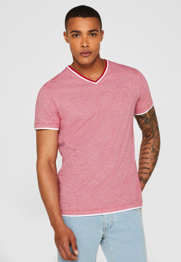 Esprit - T-shirt basique - red