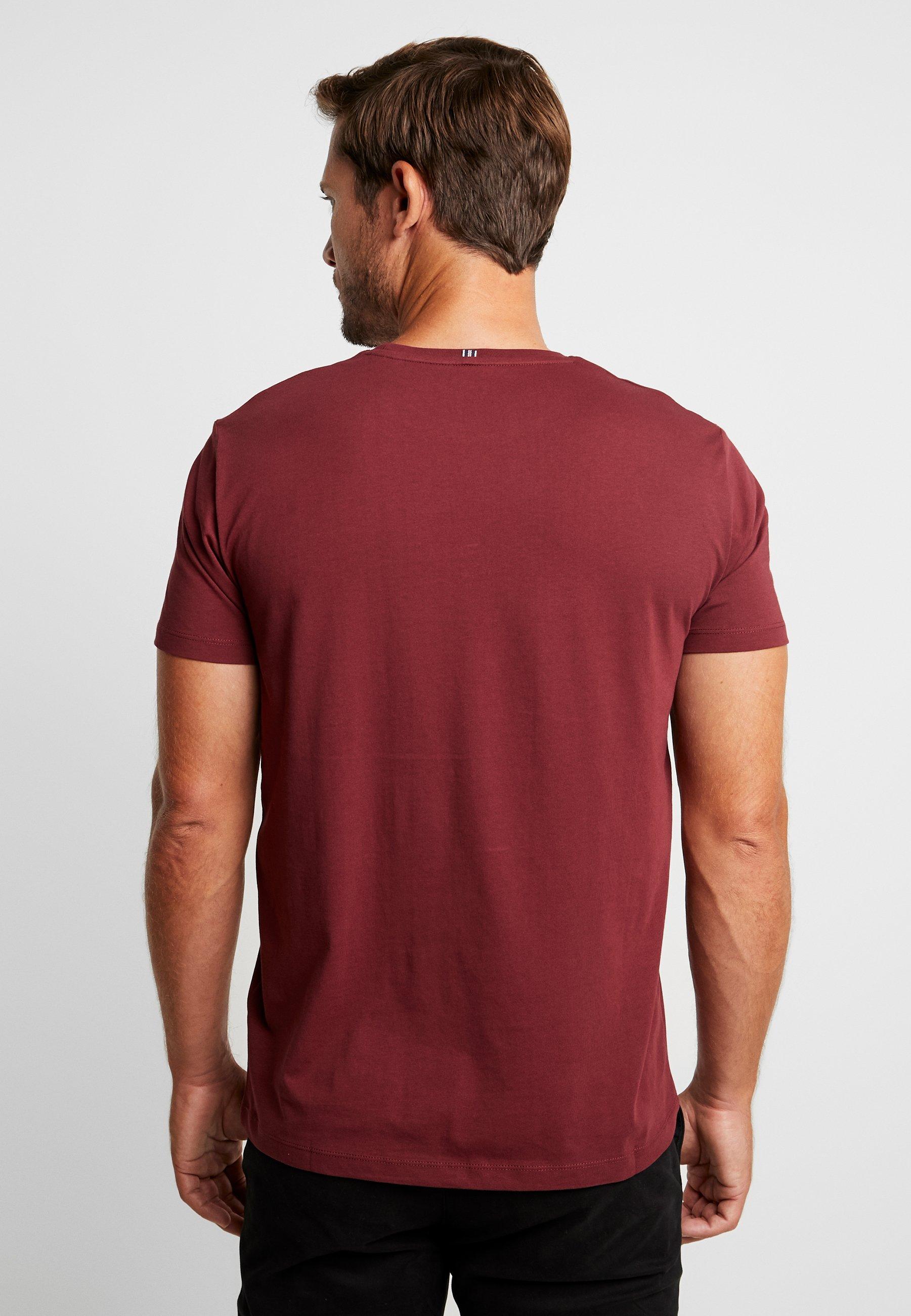 Esprit Bordeaux ModernT Red Imprimé shirt wnOPX80k