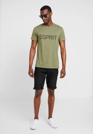 ICON 2 PACK - T-shirt z nadrukiem - khaki green