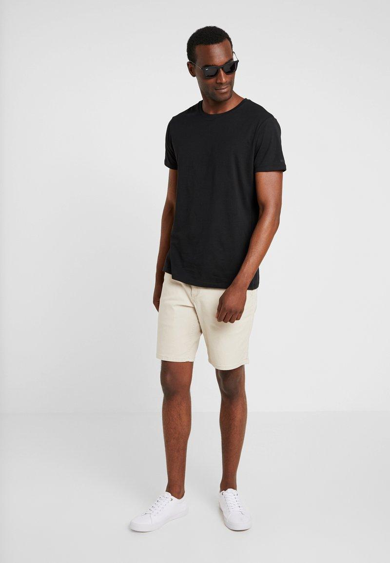 Esprit - ICON 2 PACK - T-shirt imprimé - black