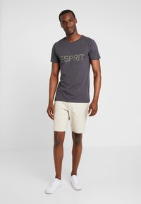 Esprit - ICON 2 PACK - T-shirt con stampa - anthracite - 0