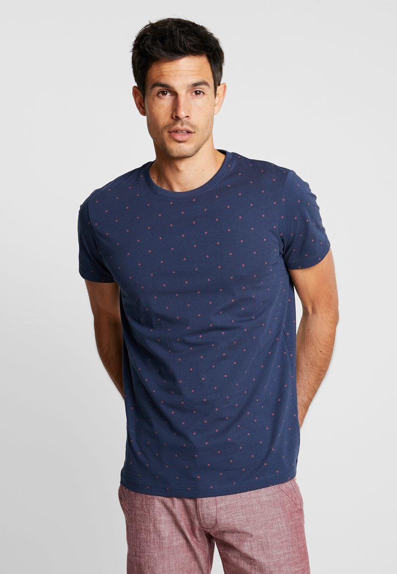 Esprit - Print T-shirt - navy