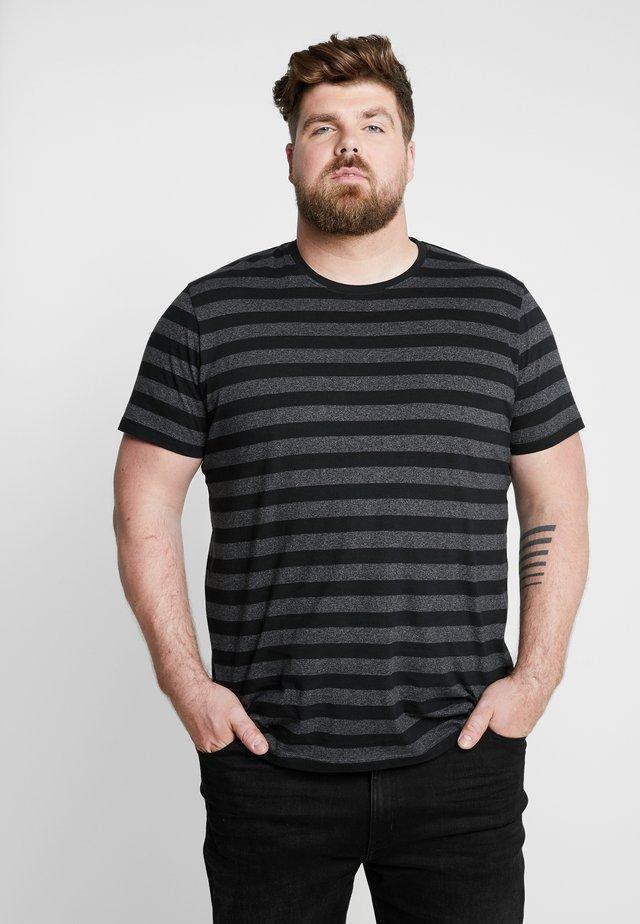 BIG - T-shirt med print - black