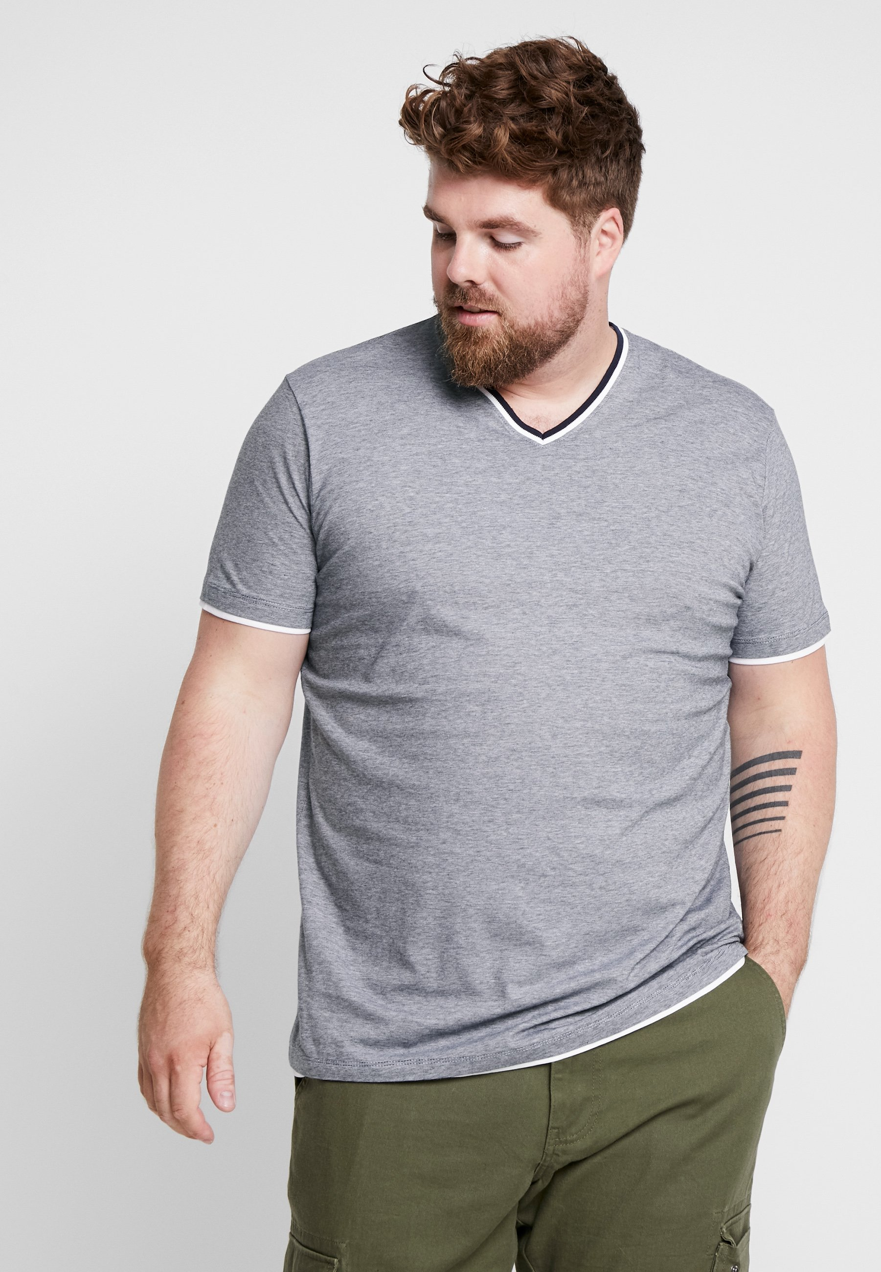 shirt Imprimé Esprit shirt Esprit shirt Navy BigT BigT Imprimé Navy Esprit BigT VMUzSp