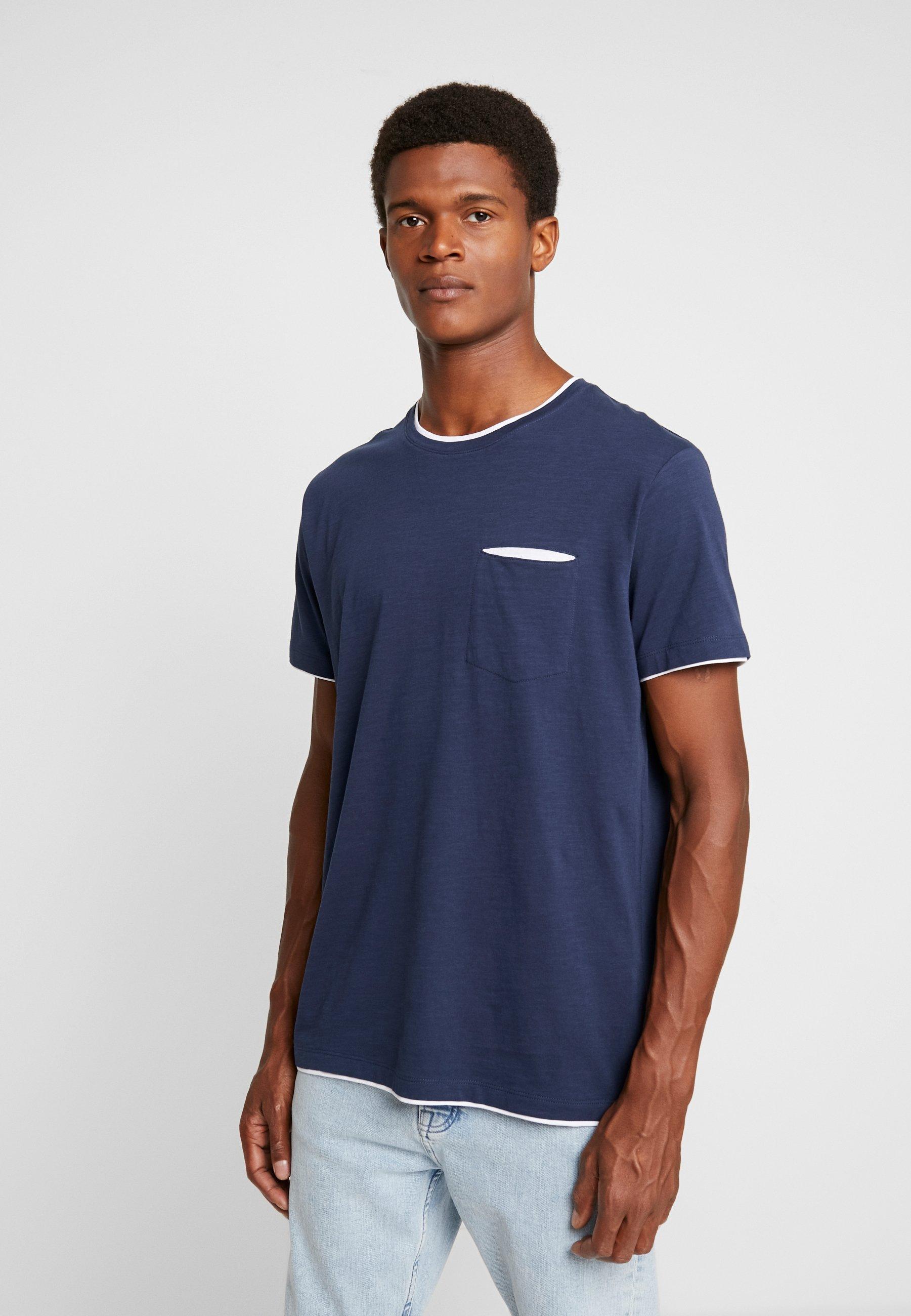 Navy shirt shirt T Basic Esprit Basic Navy T Esprit IWDH29E