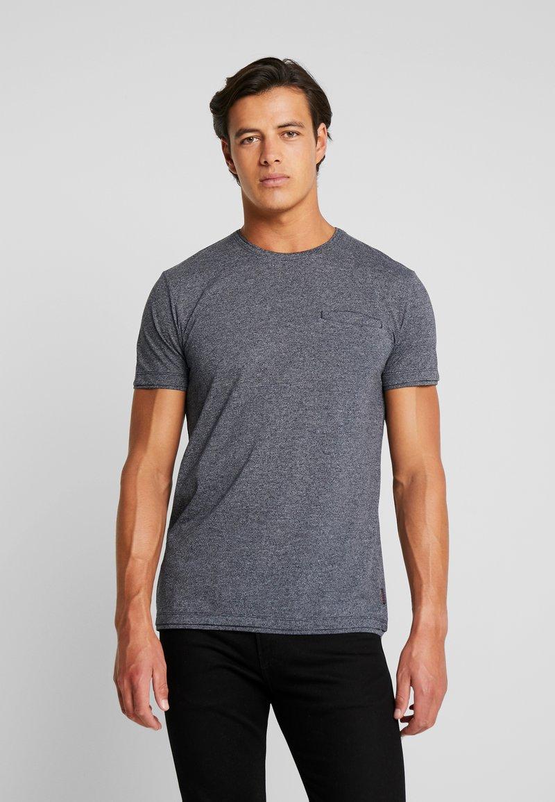 Esprit - PEACH GRINDL - Camiseta básica - navy