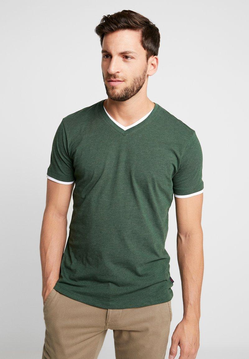 Esprit - T-shirts basic - khaki green