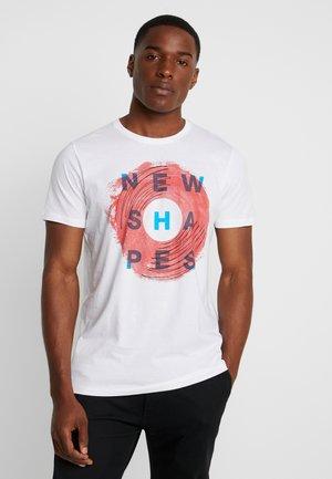MODERN - T-shirt print - white