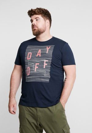 BIG MODERN  - Camiseta estampada - navy