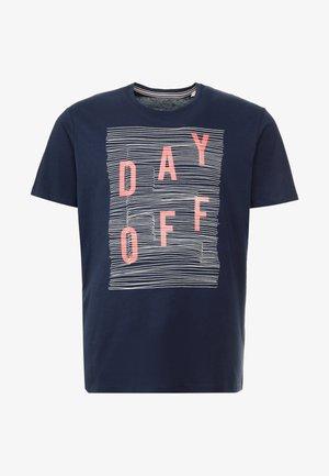BIG MODERN  - T-shirt con stampa - navy
