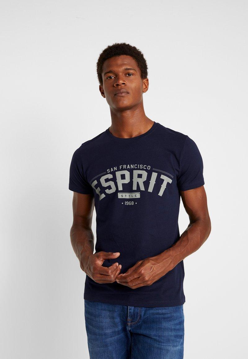 Esprit - T-shirt con stampa - navy