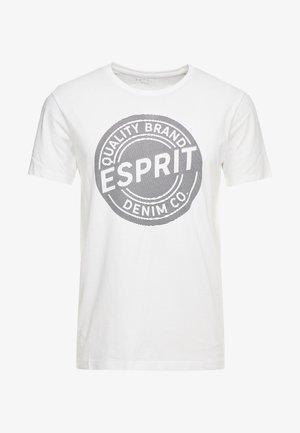 BASIC LOGO - T-shirt con stampa - white