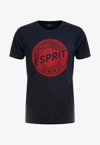Esprit - BASIC LOGO - T-shirt con stampa - navy - 4