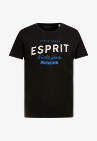 Esprit - BASIC LOGO - T-shirt print - black - 3