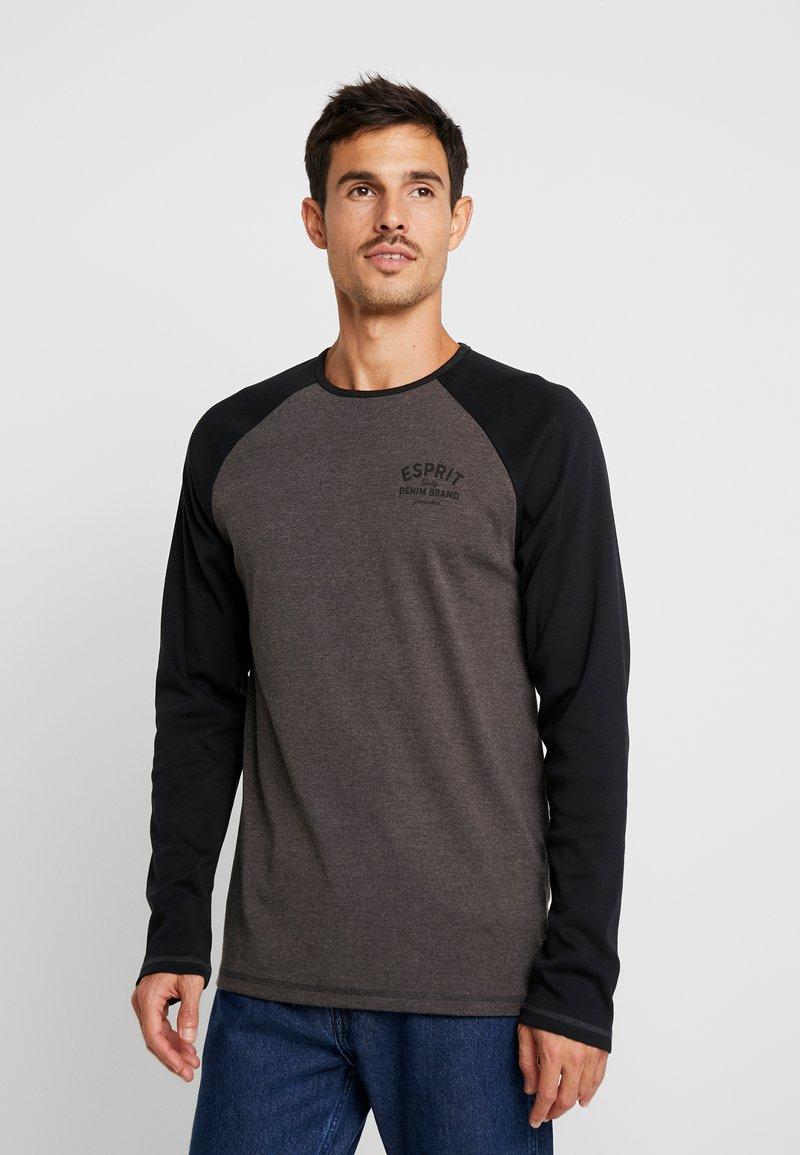 Esprit - Long sleeved top - dark grey